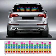 Auto LED Sound aktiviert Equalizer Aufkleber Licht Musik Rhythm Lampe Sticker