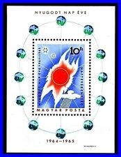 HUNGARY 1964 SPACE ASTRONOMY  // QUIET SUN YEAR S/S MNH SC.#1668