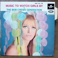 THE BOB CREWE GENERATION Music To Watch Girls By EP RARE FRENCH PS MINT/MINT!