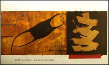 "Scott Sandell ""Black Coral"" SIGNED gallery poster for an art show MAKE OFFER!"