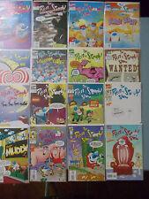 Lot of 16 comics Ren & Stimpy Show Marvel Powdered Toastman Nickelodeon cartoon