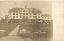 Kennebunkport ME Columbia Hotel c1905 Real Photo Postcard