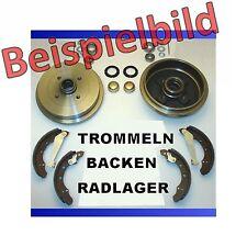 Opel Corsa B Bremsen Bremstrommel Trommeln Bremsbacken Beläge Radlager hinten**