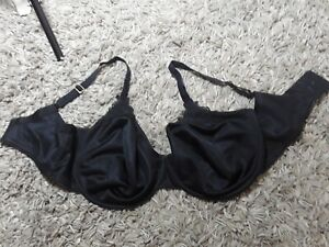 Marks & Spencer black Underwired Full Cup Bra Large Bust Lace  Plus Size 36F