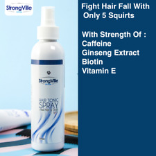 StrongVille HAIR TONIC SPRAY For Vital Hair & Scalp Complex - Caffeine & Biotin
