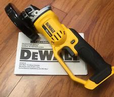 NEW!! DeWALT DCG412 20V MAX Cordless Grinder!! Tool Only!!