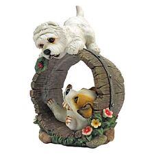 Jack Russell West Highland Terrier Dog Statue Figurine Garden Decor Statuary