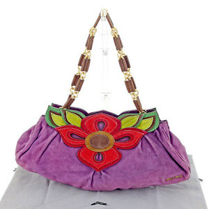 miumiu Shoulder bag Purple Red Woman Authentic Used T767