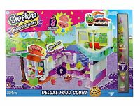 Shopkins Kin'struckins Deluxe Food Court Playset - Ships Fast - Factory Sealed!