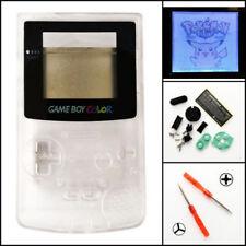 GBC Nintendo Game Boy Color Frontlit Frontlight Front Light Mod Kit Clear