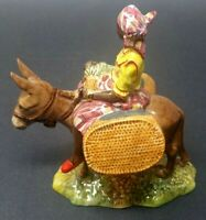 Beswick Pottery 1347 Susie Jamaica Donkey Woman Figurine Vintage Made In England