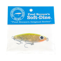 Paul Brown's Soft-Dine Suspending Twitchbait Lure Color SD-91, MirrOlure