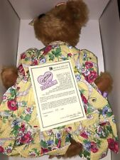 ANNETTE FUNICELLO BEAR ANNABELLE W/BOX CERTIFICATE