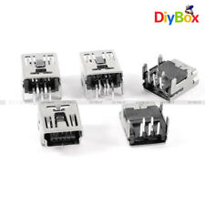 20Pcs Mini USB Type B Female Socket 5 Pin Right Angle DIP Jack Connector