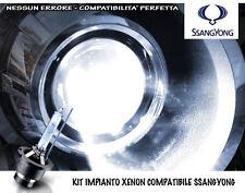 """KIT IMPIANTO XENON H7 BIANCO GHIACCIO """"SSANGYONG REXTON 1"""" (2002-2009) NO SPIA"""