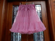 NEW SOFT 1 Layer Vintage 50's Rockabilly Style Circle Dress PETTICOAT One Size
