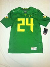 Oregon Ducks #24 Candy Green Mens Large Nike Limited Jersey