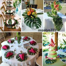 feuille de palmier décoration tropicale salle mariage maison baptême 6pcs
