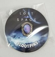 Lost In Space Pin & Mission Log Notebook- Loot Crate December 2018 New