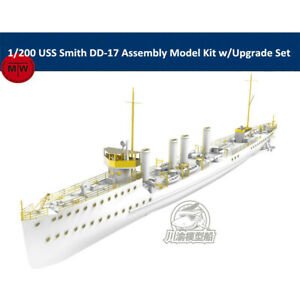 1/200 Scale USS Smith DD-17 Assembly Model Kit w/Upgrade Set