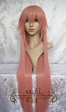 CLAMP-Hanato Kobato Dark Pink Cosplay WIG 100cm