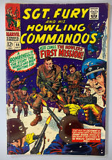 Sgt. Fury and His Howling Commandos #44 in 3.5 Very Good-