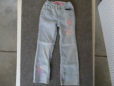 """Girl's Bongo Jean Embroidered Butterfly 22 X 22 Size 6X waist 22"""" inseam 22"""""""