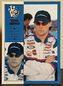 Kevin Harvick 2002 Press Pass #43 Busch Series Rookie (#2 AC Delco Chevy)
