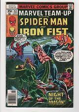 Marvel Team-Up 63 Iron Fist Steel Serpent Very good+ 4.5