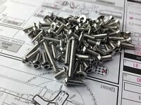 Stainless steel screws Set For AE RC8B3
