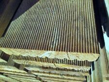 Parquet esterno 28x146x4000 mm. decking pavimento in legno antiscivolo