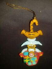Disney by Grolier Tigger Angel with Gifts Christmas Ornament #207 excellent