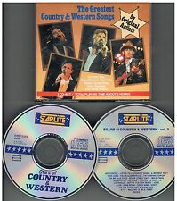 The Greatest Country & Western Songs By Original Artists 3 CD-Set