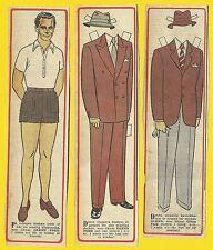 Glenn Ford Rare Vintage 1950s Movie Film Star Paper Doll Sweden