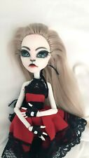 Customized Doll/Repainted Monster High Doll/ Ooak doll/ Repainted Catrine Demew