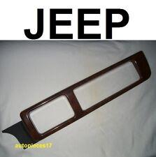 Wood insert interieur 55115116 12050 rev j jeep chrysler grand cherokee zj
