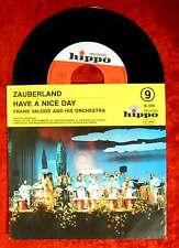 Single Frank Valdor: Zauberland / Have a nice day (Hippo 83 009) D