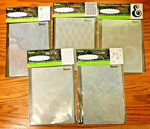 Darice Embossing Folder Universal Folders MANY TO CHOOSE FROM (S3)