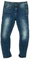 G Star Raw Arc 3D Tapered Jeans Ladies Blue Size W27 L32 *REF13-8