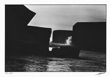 """Photographie """"Les Forteresses du Dérisoire"""" J.C. GAUTRAND blockhaus LE GURP 1973"""