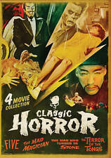 NEW Classic Horror: Five/The Mad Magician/The Man Who Turned to Stone/The Terror