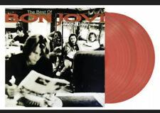 BON JOVI Cross Road - Best Of Double Coloured Red Vinyl New & Sealed Crossroad