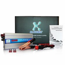 Car USB 1500/3000W WATT Power Inverter Charger 12V DC To 110V AC Adapter Convert