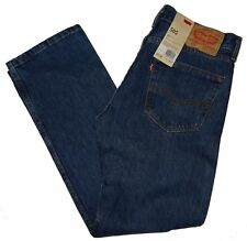 LEVI'S MENS 505 REGULAR FIT JEANS - NWT Free Shipping