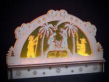 LED Arcos de Luces Arbotantes Vidrio Acrílico Christi Nacimiento Sagrada Familia