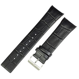Genuine leather black band to fit SKW6000 SKAGEN watches