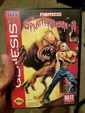 Splatterhouse 3 Sega Genesis CIB Authentic