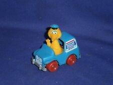 Vintage Sesame Street Big Bird in his Diecast Toy Mail Truck by Hasbro 1982 3in