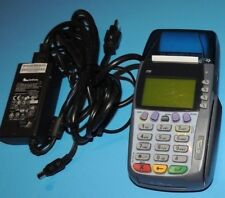 Verifone Omni 3750 Credit Card Reader Terminal with Ac Power Supply