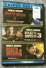 Death Wish: Triple Feature  *NEW/SEALED*  (Death Wish 2 / 3 / 4) DVD Set